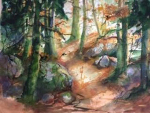 Original - Romantischer Waldweg (The Romantic Path)