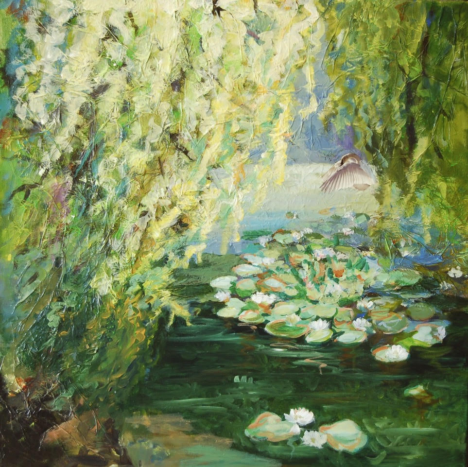 Poster -Seerosenteich (The Water Lily Pond)