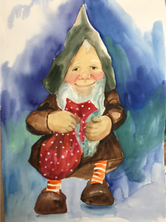 Original - Gnome 'Finance Minister Mr. Pennycounter'