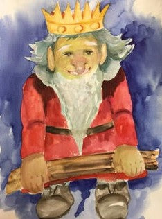 Gnome Poster Gnome King Cunibert the 1.st