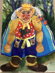 Gnome PosterPrinz Google der 2 (Prince Googly the 2nd)