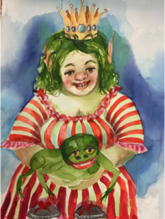 #2 Original - Gnome 'Queen Cunigunde'