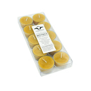 Tea Light 10 pack - Pure Beeswax