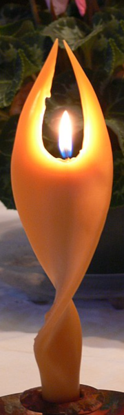 Angel Candles by Artisan Candles - Pure Beeswax