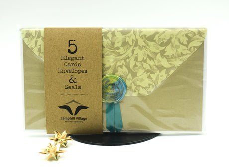 5 Elegant Cards Envelopes & Seals