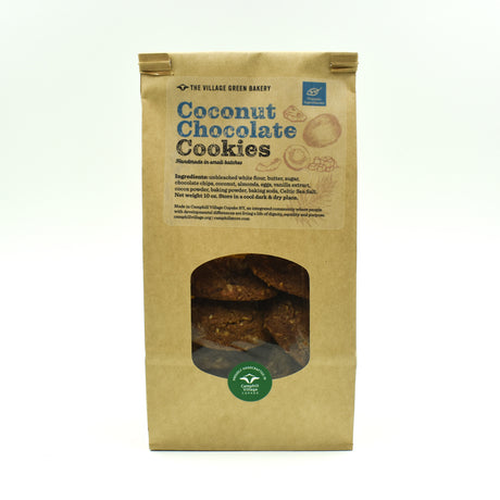 Coconut Chocolate Cookies - Handmade Organic
