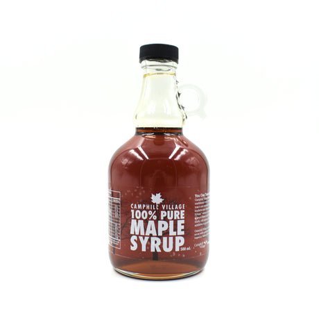 100% Pure Maple Syrup - 500ml Glass Bottle