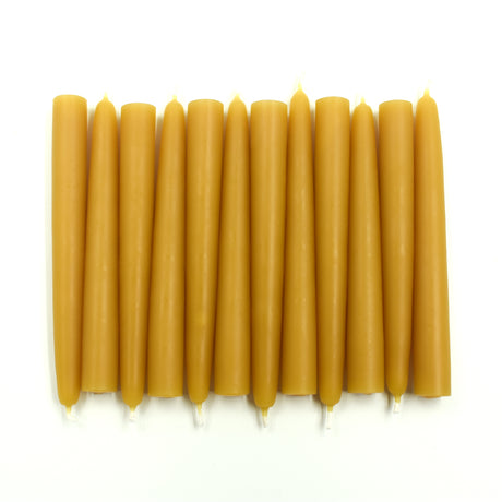 "Bulk Tree Candles 4.5"" x 0.5""- FREE SHIPPING - Pure Beeswax"