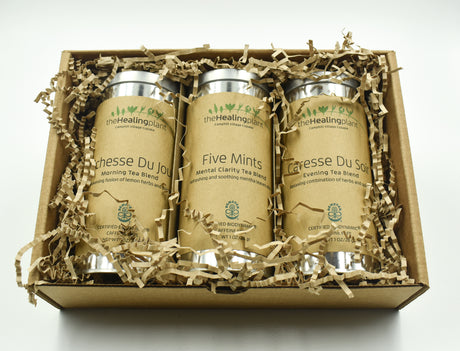 Three Herbal Infusions for the Day - Tea Gift box