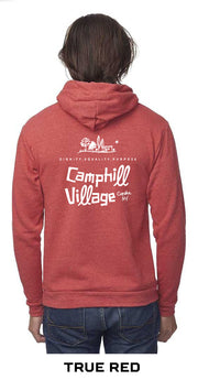 Hoodie Organic Cotton and Recycled Polyester with embroidered Logo