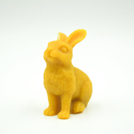Easter Rabbit Candle - Pure Beeswax