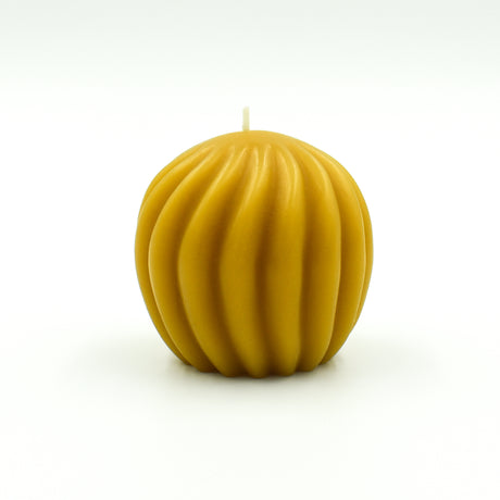Swirl Ball - Pure Beeswax