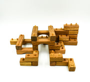 Handmade Interlocking Wooden Blocks