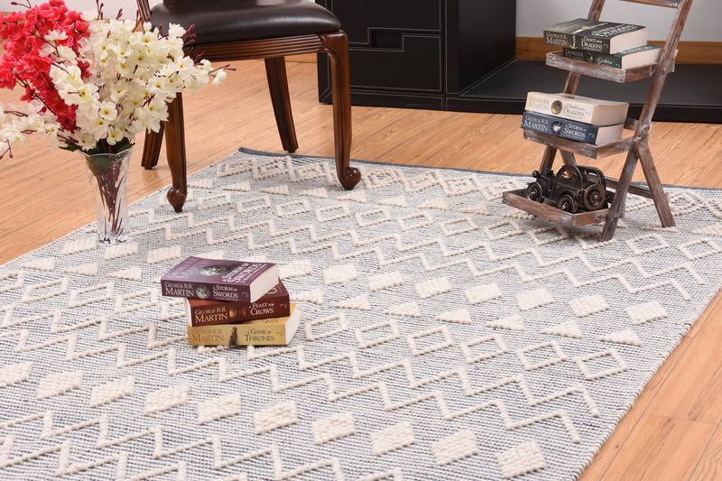 Fortune Grey Wool Rug