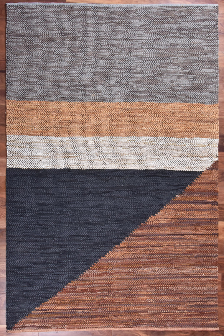 Carmen Leather Rug