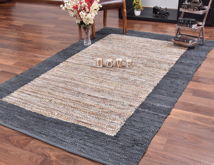 Flash Leather Rug