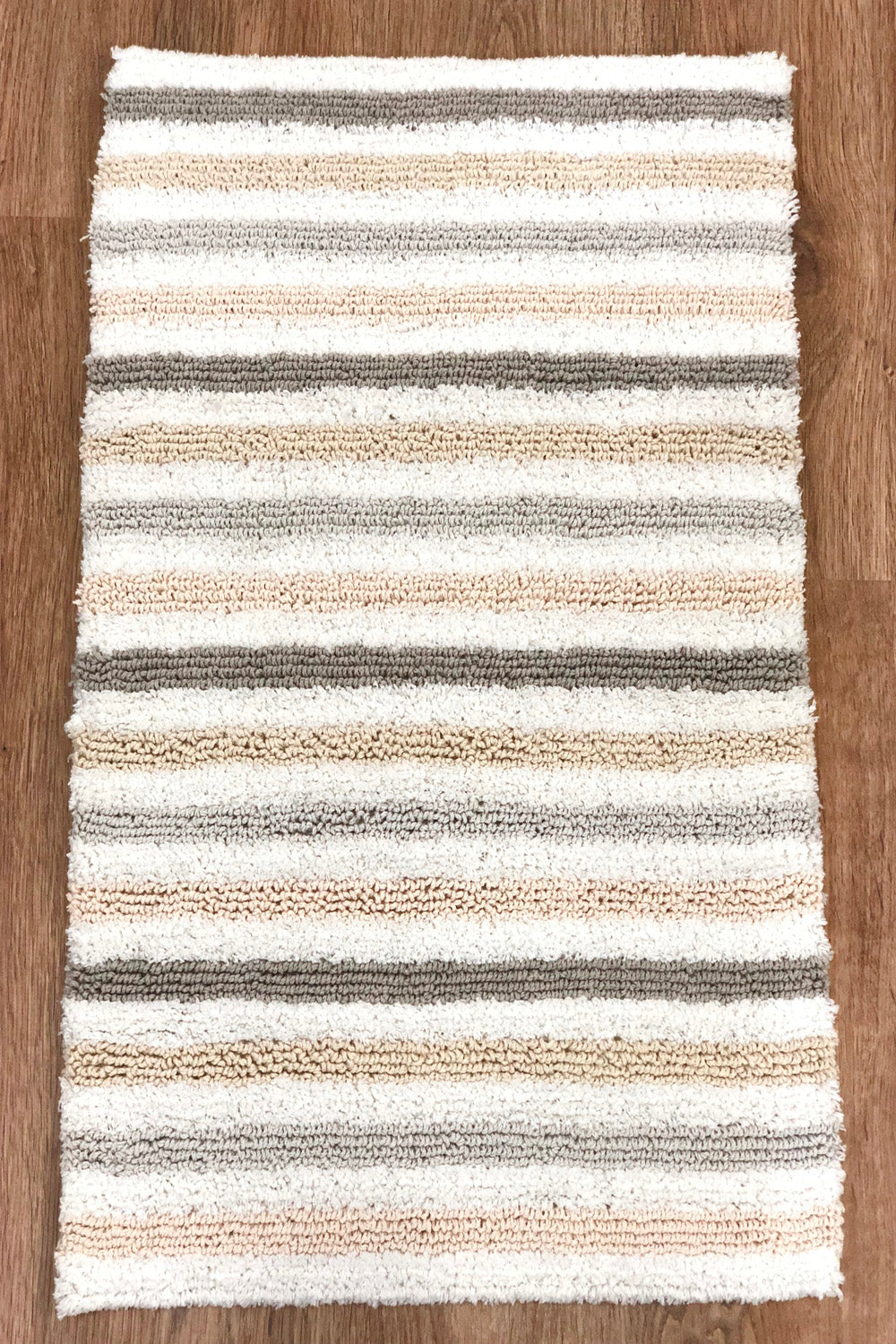 Glarius Beige Reversible Bathmat