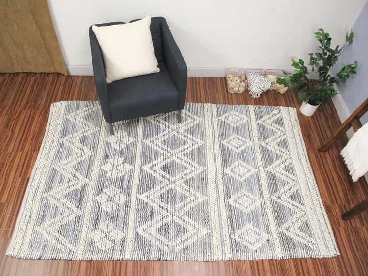 Angel Wool Denim Rug