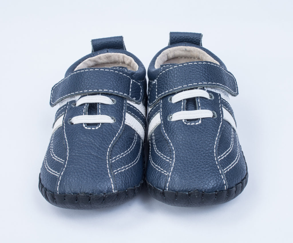 Matthew / Navy Stripe - SHOE OF THE MONTH