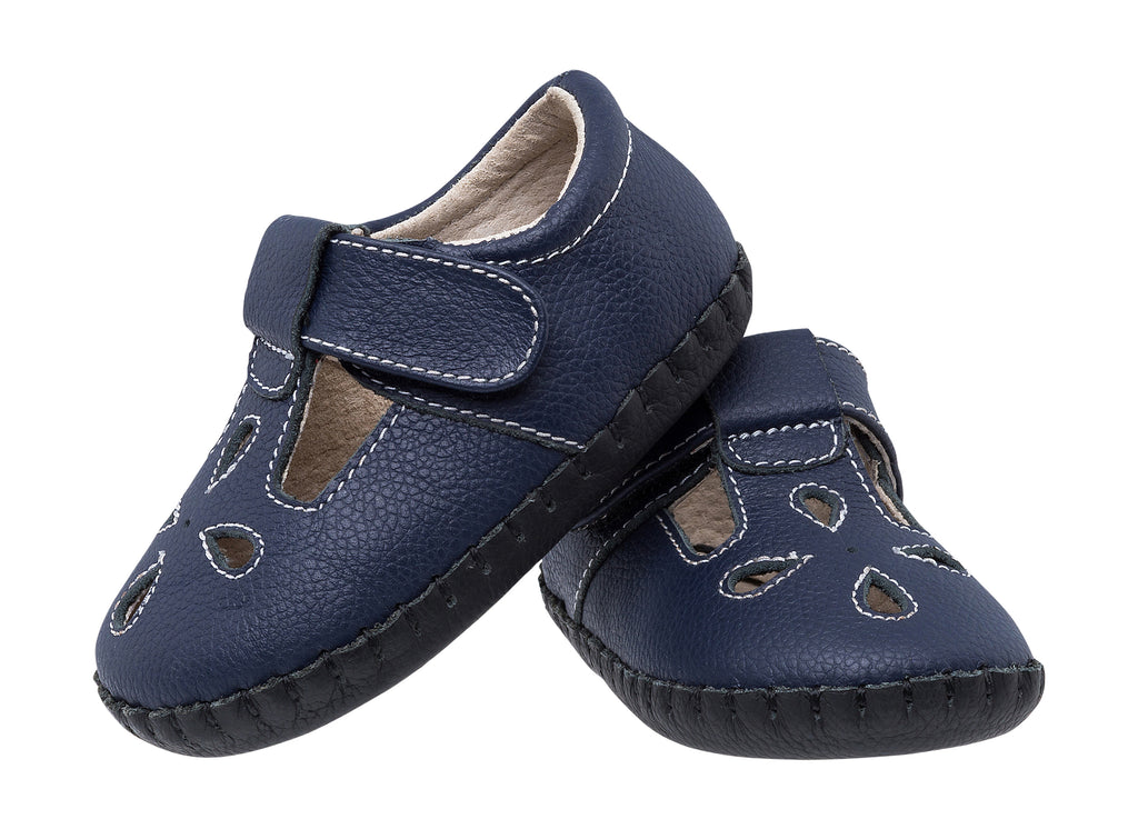 Sophie / Navy - JEMOS SHOE OF THE MONTH