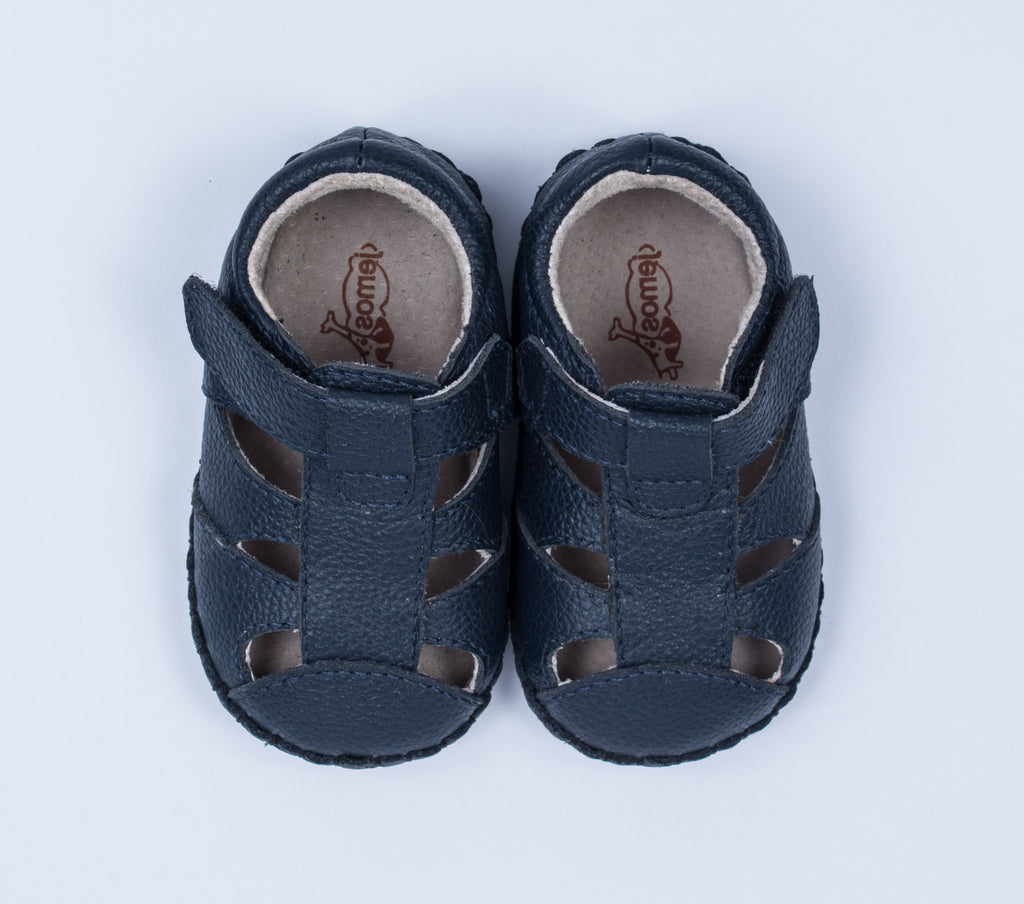 Aiden / Navy Sandal
