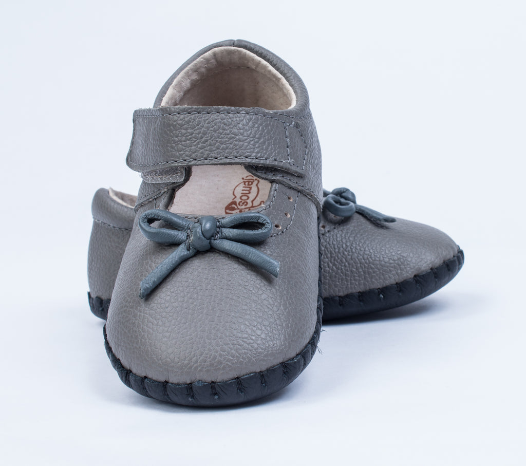 Camryn / Gray - JEMOS SHOE OF THE MONTH