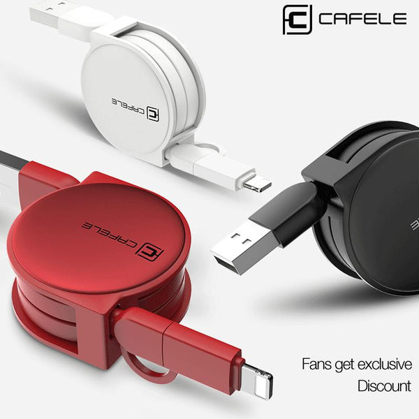 2 in 1 USB Cable Fast Charging