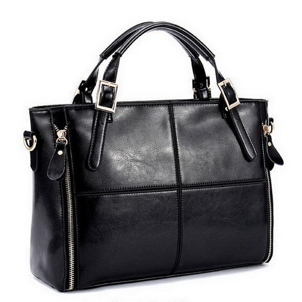 Designer cattle split leather bags