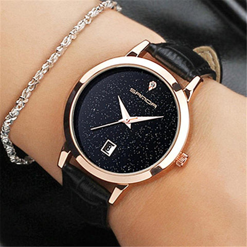 fashion romantic woman watch
