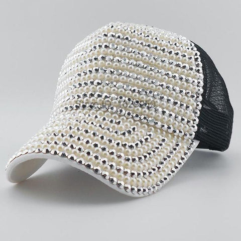 Luxury Diamond Baseball Cap