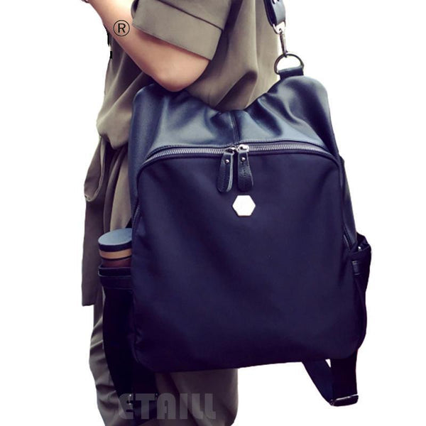 PU Leather Backpack Waterproof