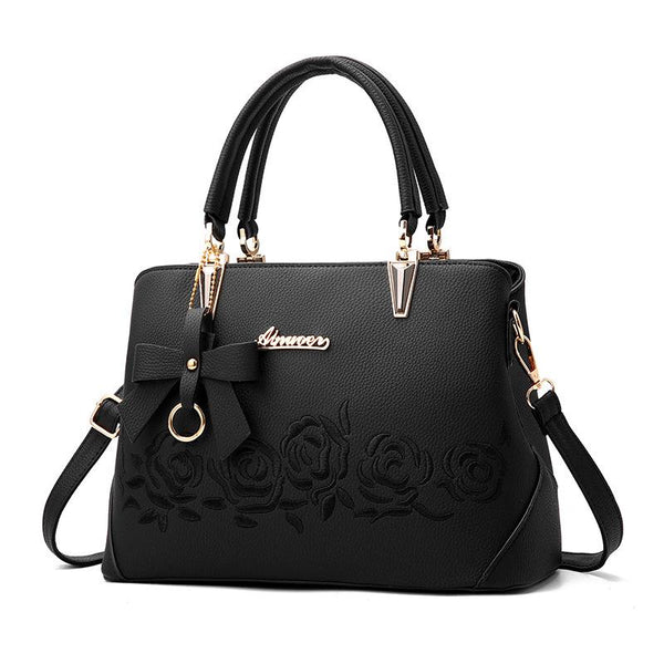 Rose Printing handbag women