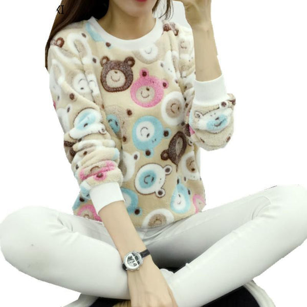Women  spring winter  tops