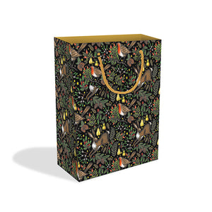 Christmas Garden Large Gift Bag