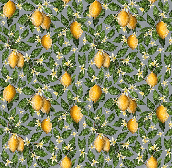 Lemon Grove Pattern Wallpaper