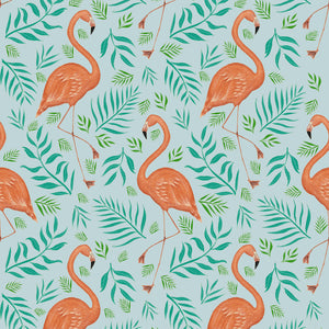 Flamingo Pattern Wallpaper