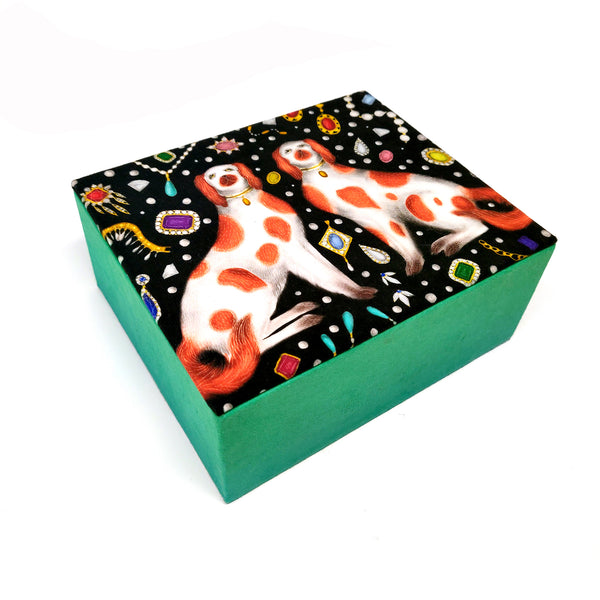 Luxurious Jewellery Box in China Dogs & Jewels Design