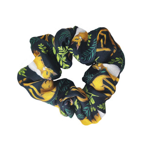 Jungle Cats - Vegan Silk Scrunchie - Portion of Profits Donated to NHS