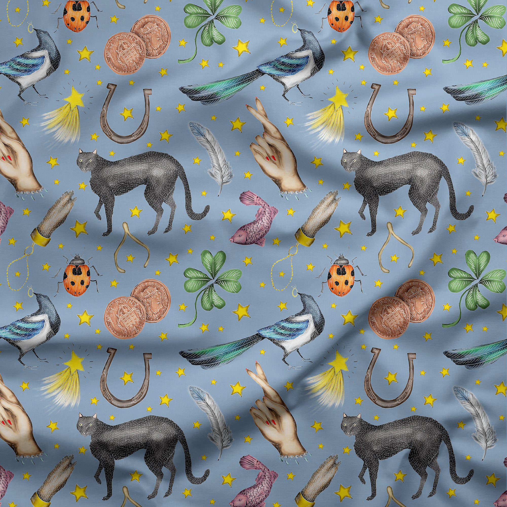 Lucky Pattern Fabric