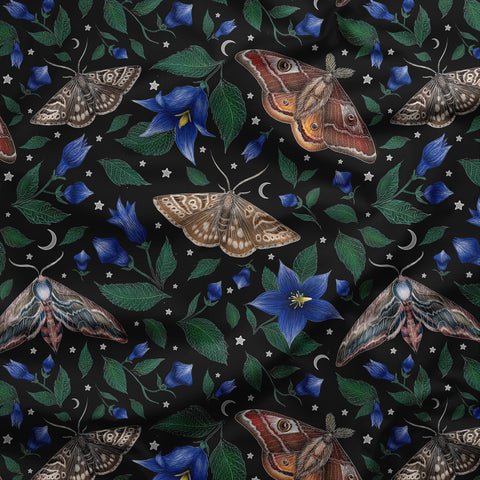 Moths Pattern Fabric