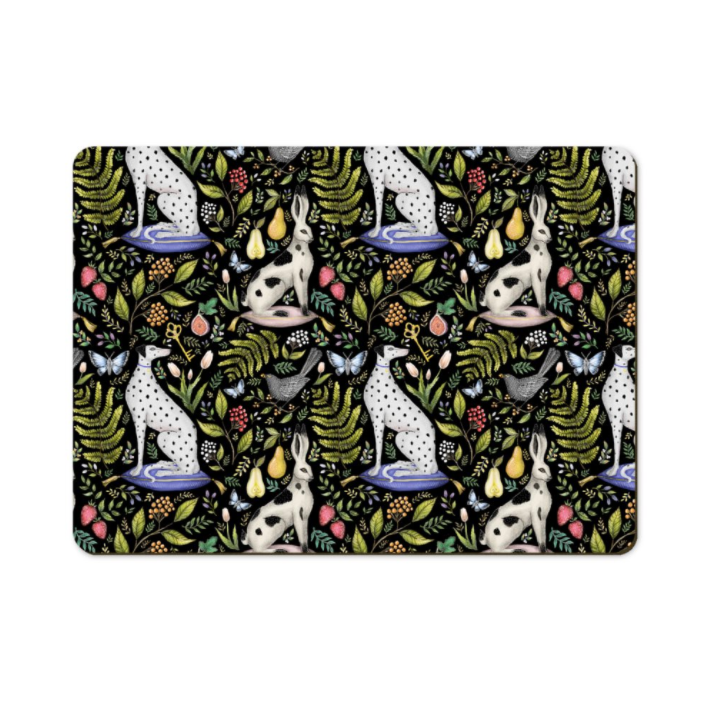 Palace Gardens Pattern Wooden Placemats - Handmade to order in London