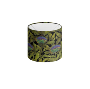 Artichoke Thistle Pattern Handmade to order Lampshade - 3 Sizes Available