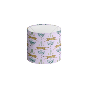 Cheetah Pattern in Lilac Handmade to order Lampshade - 3 Sizes Available