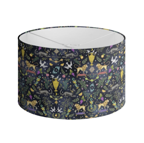 "I Regali ""The Gifts"" Pattern Handmade to order Lampshade - 3 Sizes Available"