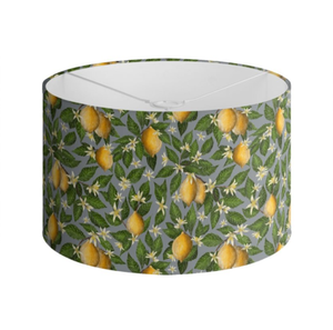 Lemon Grove Pattern Handmade to order Lampshade - 3 Sizes Available
