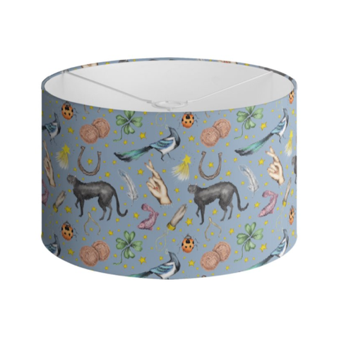 Lucky Pattern Handmade to order Lampshade - 3 Sizes Available