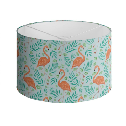 Flamingo Pattern Handmade to order Lampshade - 3 Sizes Available