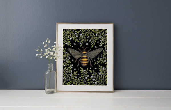 Honey Bee Print
