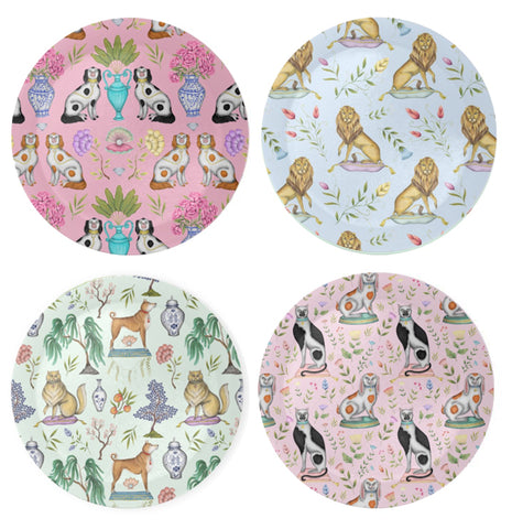 Chinoiserie Pattern Coaster Set
