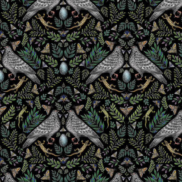 Doves Pattern Wallpaper